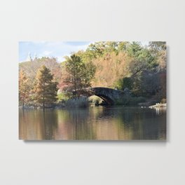 New York City Central Park Metal Print