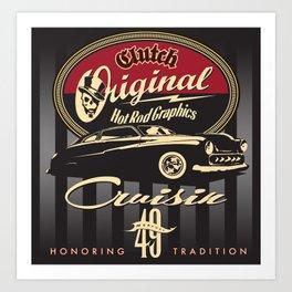 Cruisin 49 Art Print