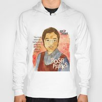 parks Hoodies featuring Rosa Parks by The History Witch