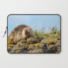 Seal at Dunvegan Castle, Scotland Laptop Sleeve