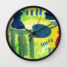 Ode to Morandi Wall Clock
