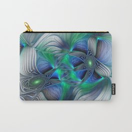 Fantasy Place, Abstract Fractal Art Carry-All Pouch