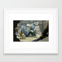 gladiator Framed Art Prints featuring Gladiator by Ken Rolston