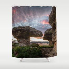 The Bunnet Stane Fife Scotland Shower Curtain