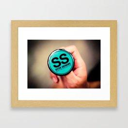 Shiok Sendiri Framed Art Print