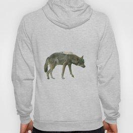 Shaggy wolf Hoody