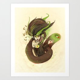 Leech Magic Art Print