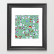 Christmas Fun Framed Art Print