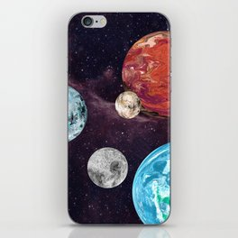 Planets and Moons iPhone Skin