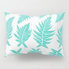 Inked Ferns – Turquoise Palette Pillow Sham