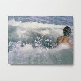 Swimmer Metal Print