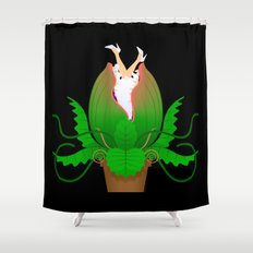 Audrey II Shower Curtain