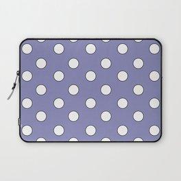 Lavender Pastel Polka Dots Laptop Sleeve