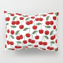 red cherry pattern Pillow Sham