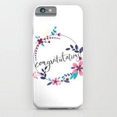 CONGRATULATIONS Slim Case iPhone 6s
