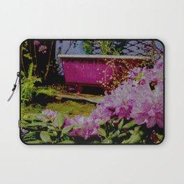 Pink Bathtub Laptop Sleeve