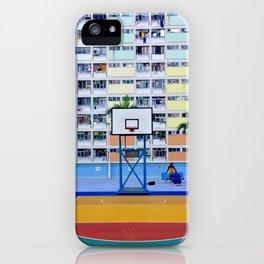 rainbow house (彩虹邨) iPhone Case
