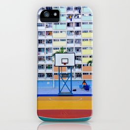 rainbow house (彩虹邨) iPhone Case