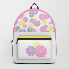 Origami Flowers - Pastel Backpack