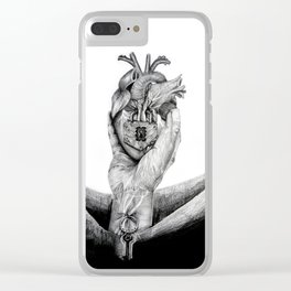 Unknown heart Clear iPhone Case