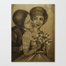 old love Canvas Print