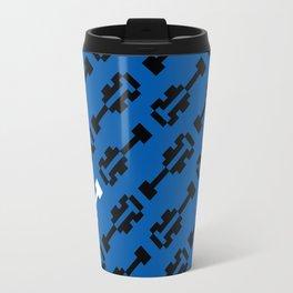 All of the 8Bit (Blue) Travel Mug