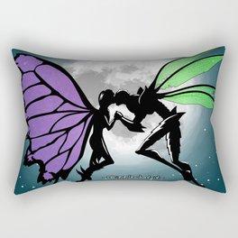 Butterfly Bog Rectangular Pillow
