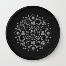 Mandala LXXV Wall Clock