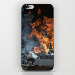 Blacksmith iPhone Skin