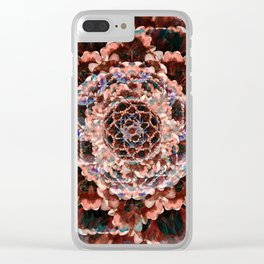 Eye of the Flower Clear iPhone Case
