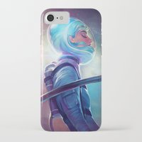 loish iPhone & iPod Cases featuring silence by loish