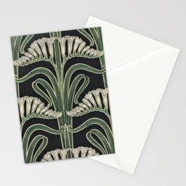 Art Nouveau Botanical Stationery Cards
