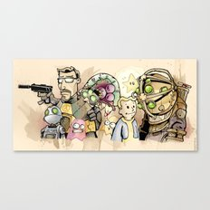 gaming. Canvas Print