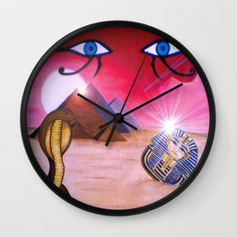 magic of egypt Wall Clock