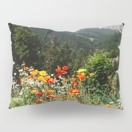 Mountain garden Pillow Sham