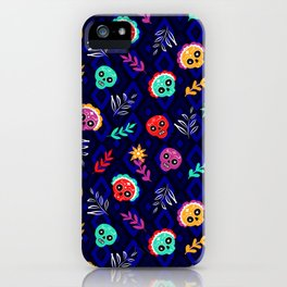 Fiesta Skulls #society6 #skulls iPhone Case