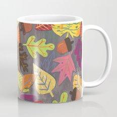 Autumn Leaves Pattern Mug
