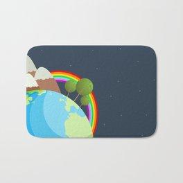 Night On Earth Bath Mat