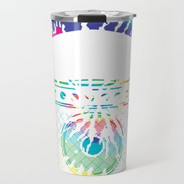 Abstract Amplifier Art Travel Mug