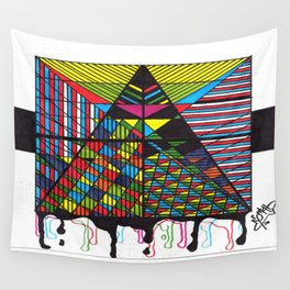 heard without a sound Wall Tapestry