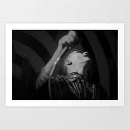 Demented are go Art Print