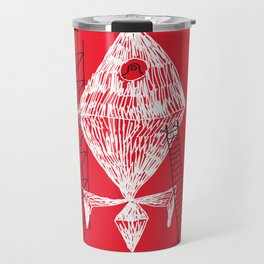 A Machine Designed To Fly In Outer Space Travel Mug