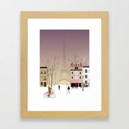 the Parisian way of life Framed Art Print