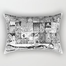 Inktober 2016 Rectangular Pillow