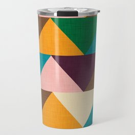 Kilim Chevron Travel Mug