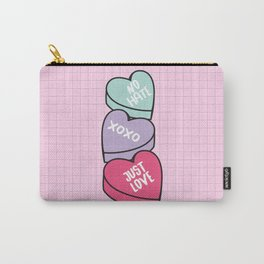 No Hate Just Love Carry-All Pouch