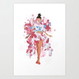 rihanna x comme x metgala17 Art Print