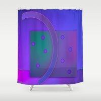 jazz Shower Curtains featuring jazz by Hannah Siegfried