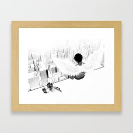 Who you'd be today Framed Art Print