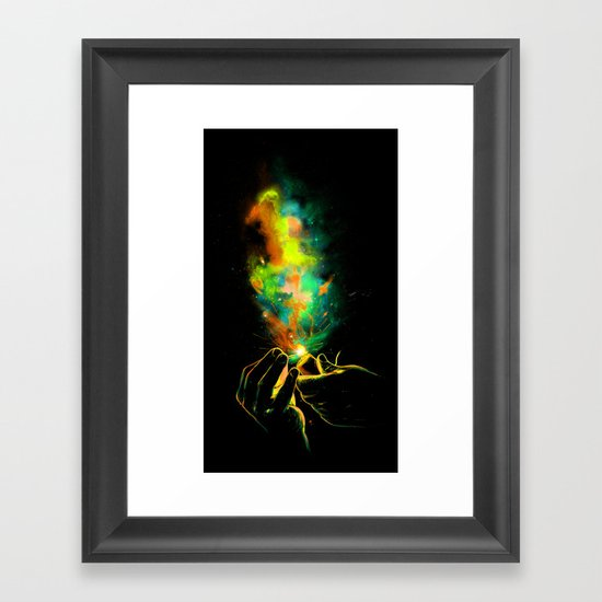 Light It Up! Framed Art Print